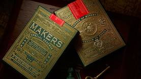 MAKERS PLAYING CARDS - Tavalliset - 58890 - 1