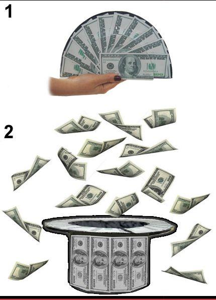 DOLLARS TO TOP HAT - Karnevaalikauppa Aprilli verkkokauppa 9b12c53ec4