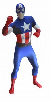 MORPHSUIT CAPTAIN AMERICA- - Morphsuit ja Digital Dudz - 15521