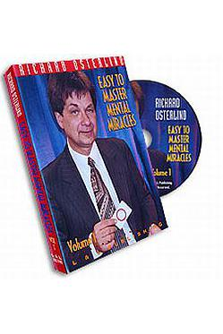 EASY TO MASTER MENTAL MIRACLES  # 1 DVD - Ajatustenluku - 5102 - 1