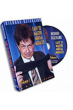 EASY TO MASTER MENTAL MIRACLES  # 2 DVD - Ajatustenluku - 5103 - 1