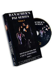 PSI SERIES 1 - MENTALISM FOR THE CASUAL PERFORMER 1 DVD - Ajatustenluku - 4893 - 1