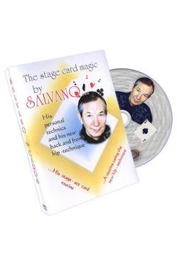 SALVANO STAGE CARD MAGIC DVD - Manipulaatio ja XTC - 10423