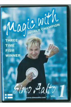 MAGIC WITH SIMO AALTO 1 DVD - Sekalaiset DVD:t - 10914
