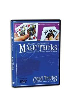 AMAZING EASY TO LEARN CARD TRICKS DVD - Korttitemput - 11465