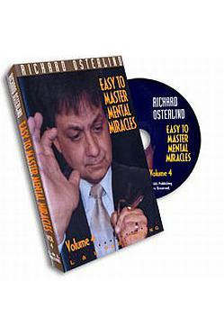 EASY TO MASTER MENTAL MIRACLES  # 4 DVD - Ajatustenluku - 5105 - 1