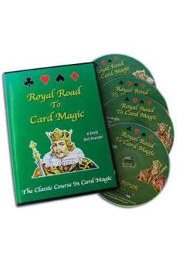 ROYAL ROAD TO CARD MAGIC (4 DVD) - Korttitemput - 11467