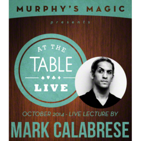AT THE TABLE LIVE CALABRESE LATAUSVIDEO - Korttitemput - 53887L - 1