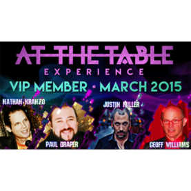 AT THE TABLE VIP MARCH 2015 LATAUSVIDEO - Sekalaiset - 55292L - 1