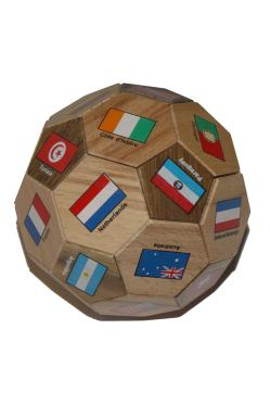 SOCCER BALL WITH FLAGS - Muut pulmat - 6036P - 1